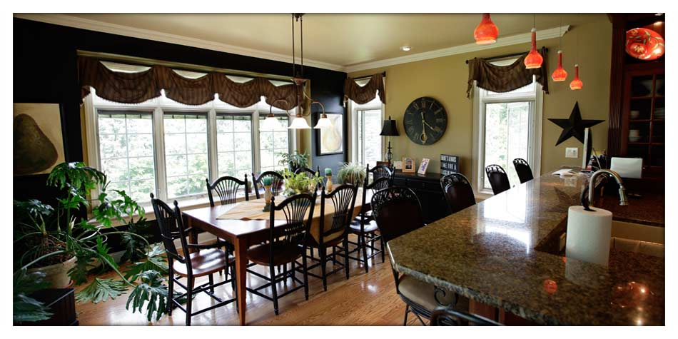 Dining in style in your new Posocco Construction home
